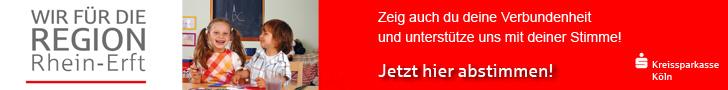 Stimmabgabe für den Vereinswettbewerb Wir für die Region Rhein-Erft